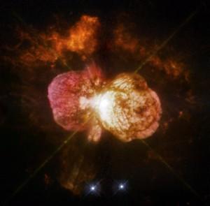 eta carinae,homunculus nebula,carina nebula