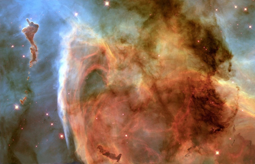 the keyhole nebula,carina constellation