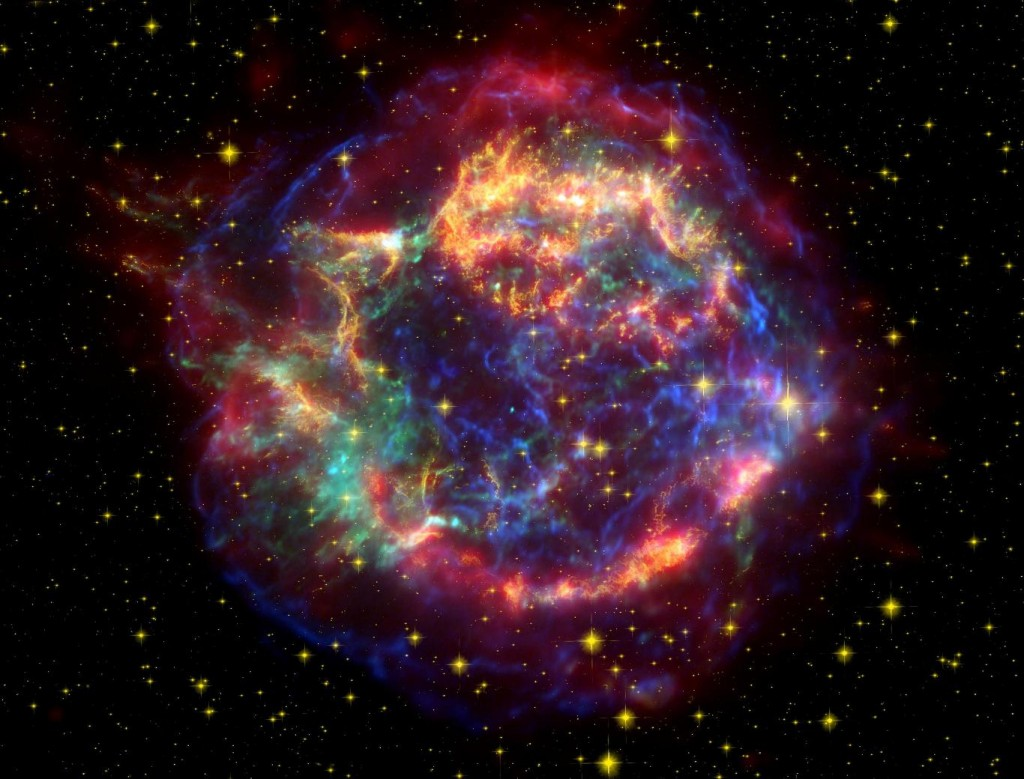 cassiopeia a,supernova remnant,radio source