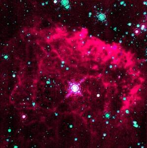 pistol star,pistol nebula,sagittarius constellation
