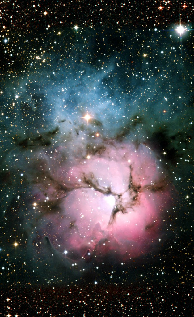 trifid nebula,messier 20,m20,ngc 6514