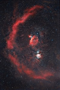 barnard's loop,orion constellation