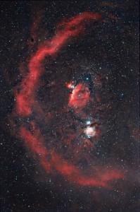 barnard's loop,orion constellation