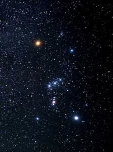orion constellation,rigel,betelgeuse,orions belt
