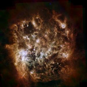 lmc,doradus,irregular galaxy
