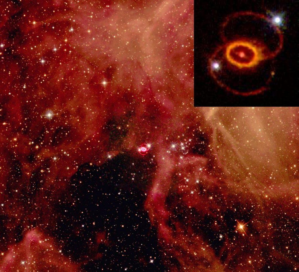 supernova in the night sky - photo #25