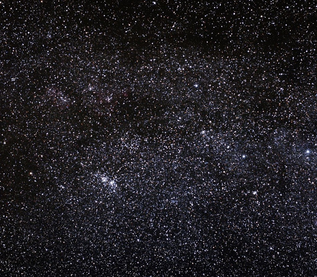 The Double Cluster in Perseus,ngc 869,ngc 884