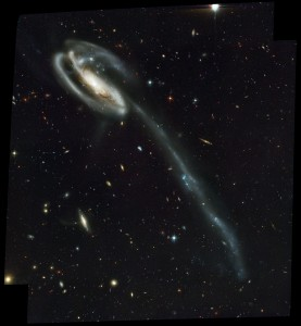 collided galaxy,distorted galaxy,barred spiral,arp 188