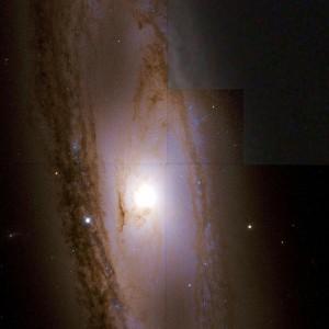m65,spiral galaxy in leo
