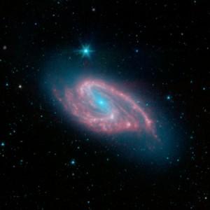m66,spiral galaxy,leo constellation