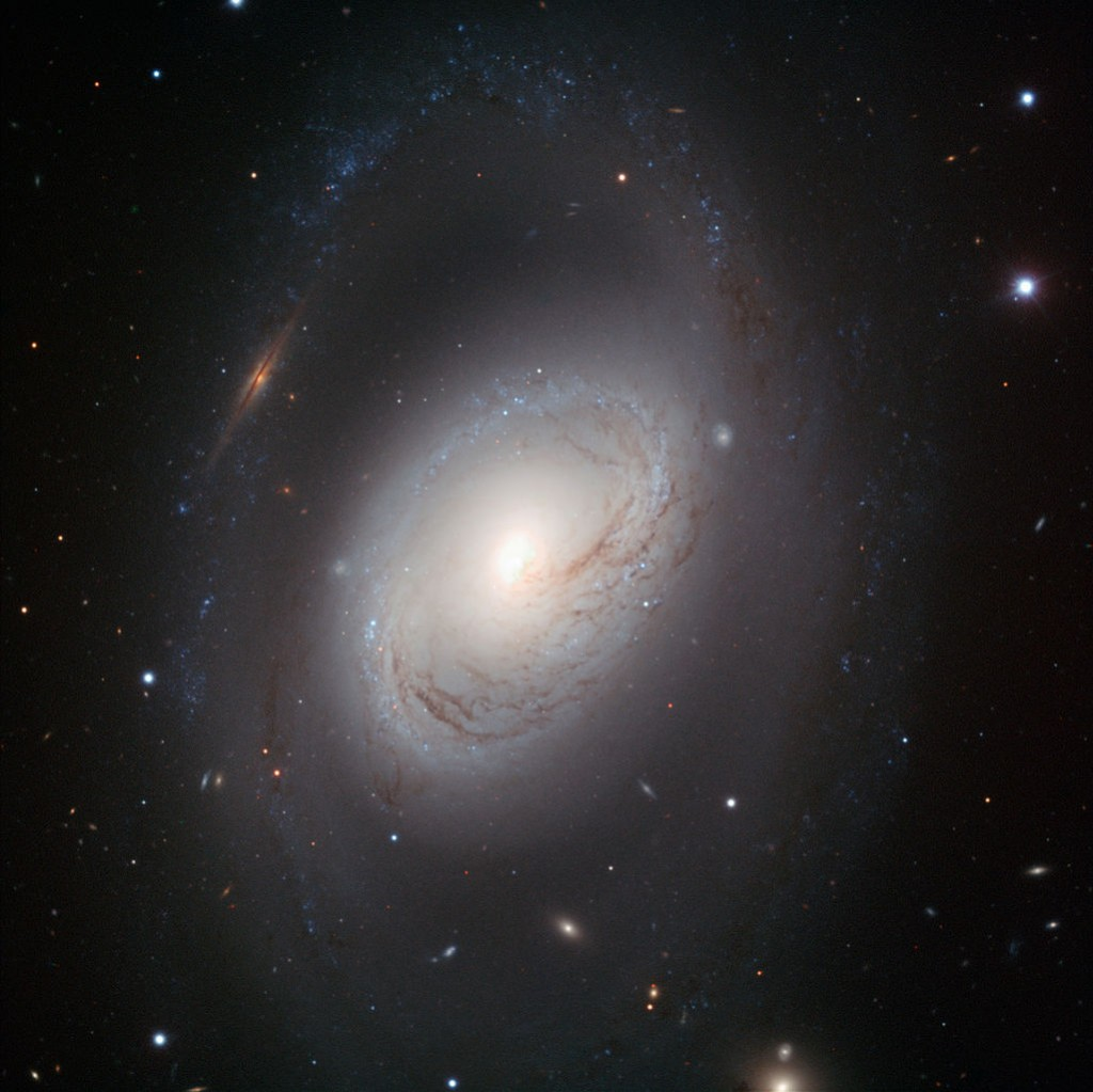 m96,intermediate spiral galaxy