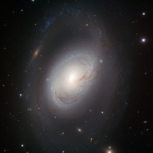 m96,intermediate spiral galaxy