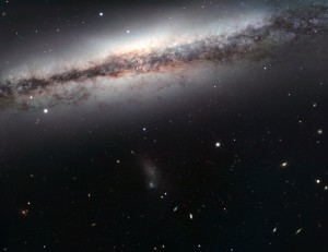 unbarred spiral galaxy,leo triplet