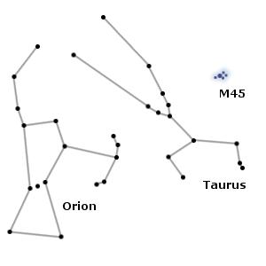 orion constellation,taurus constellation