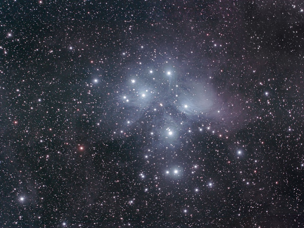 messier 45,m45,seven sisters
