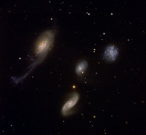 NGC 87, NGC 88, NGC 89, NGC 92,galaxies in phoenix