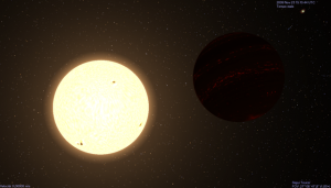 giant star,binary star system
