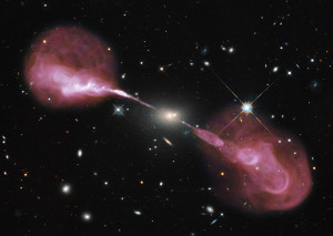 hercules a,elliptical galaxy,unusual galaxy,radio galaxy