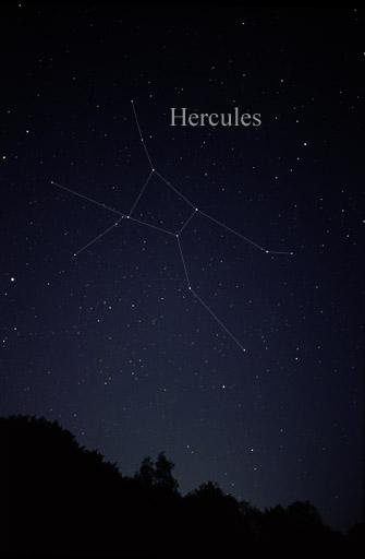 hercules constellation,the hero constellation,constellation pictures