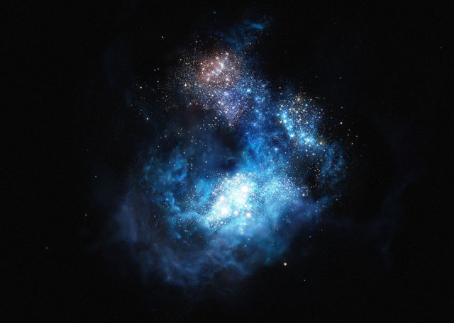 cr7,oldest galaxies,most distant galaxies