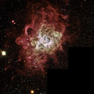 nebula,triangulum constellation,starburst region