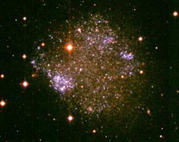 dwarf irregular galaxy