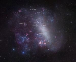 irregular galaxy,mensa constellation