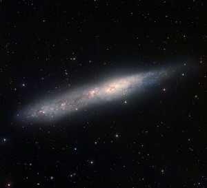 southern cigar galaxy,barred spiral galaxy