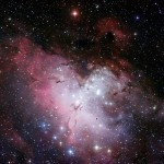 eagle nebula,messier 16,m16,pillar of creation