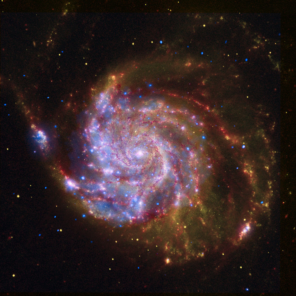 pinwheel galaxy,messier 101