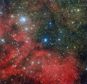 ngc 6604,sh2-54,open cluster,emission nebula