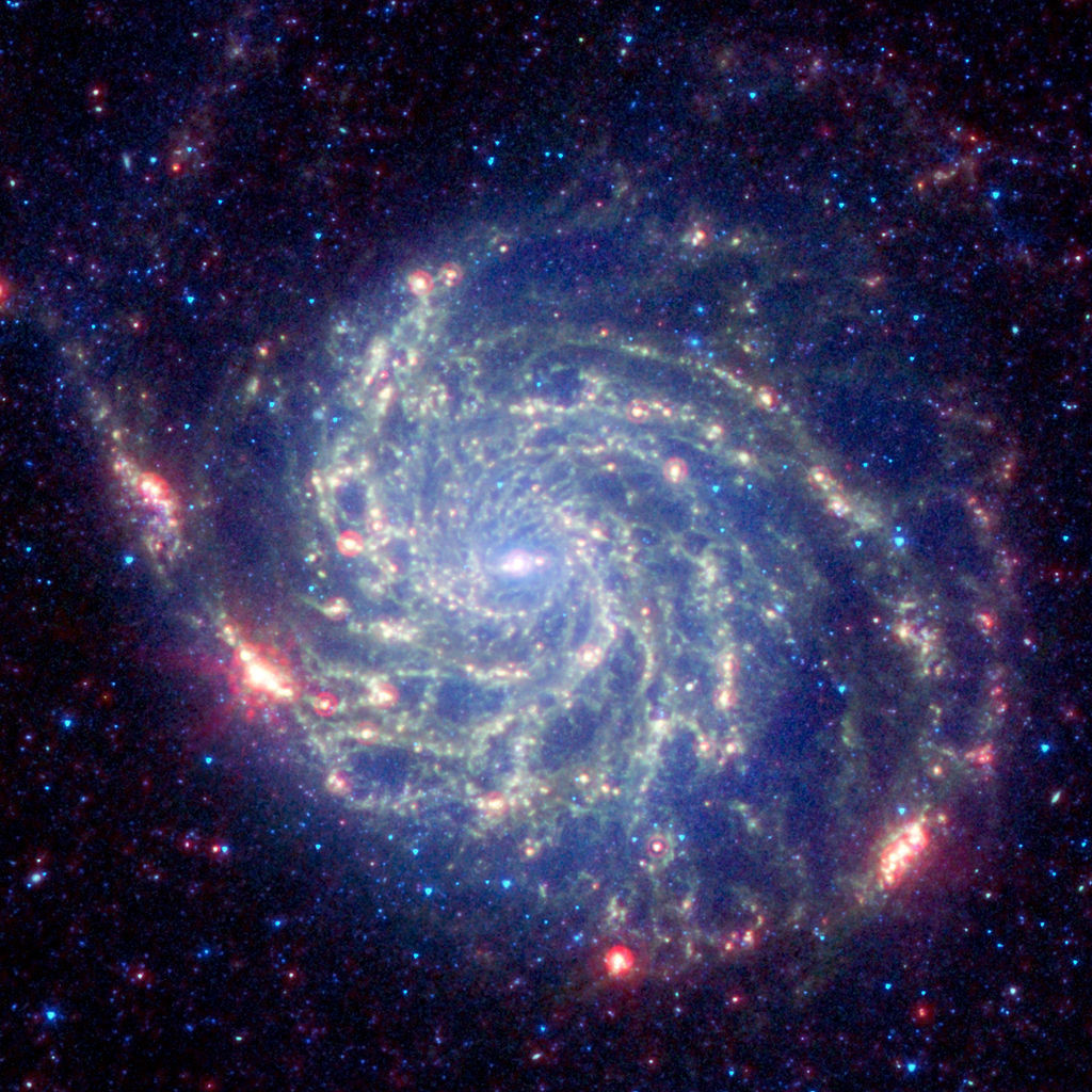 pinwheel galaxy,m101,spiral galaxy,ursa major