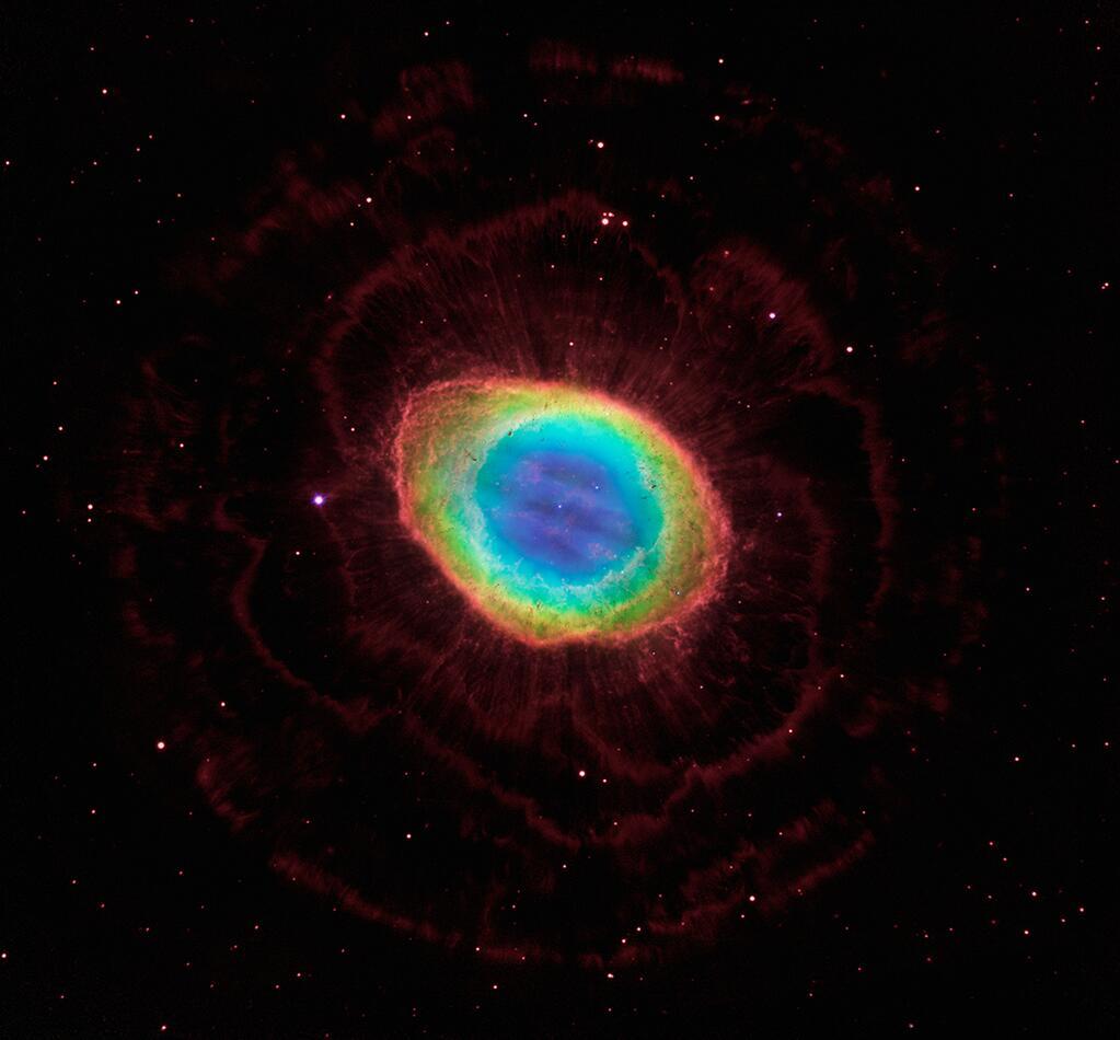 Bipolar planetary nebula PN Hb 12  ESAHubble