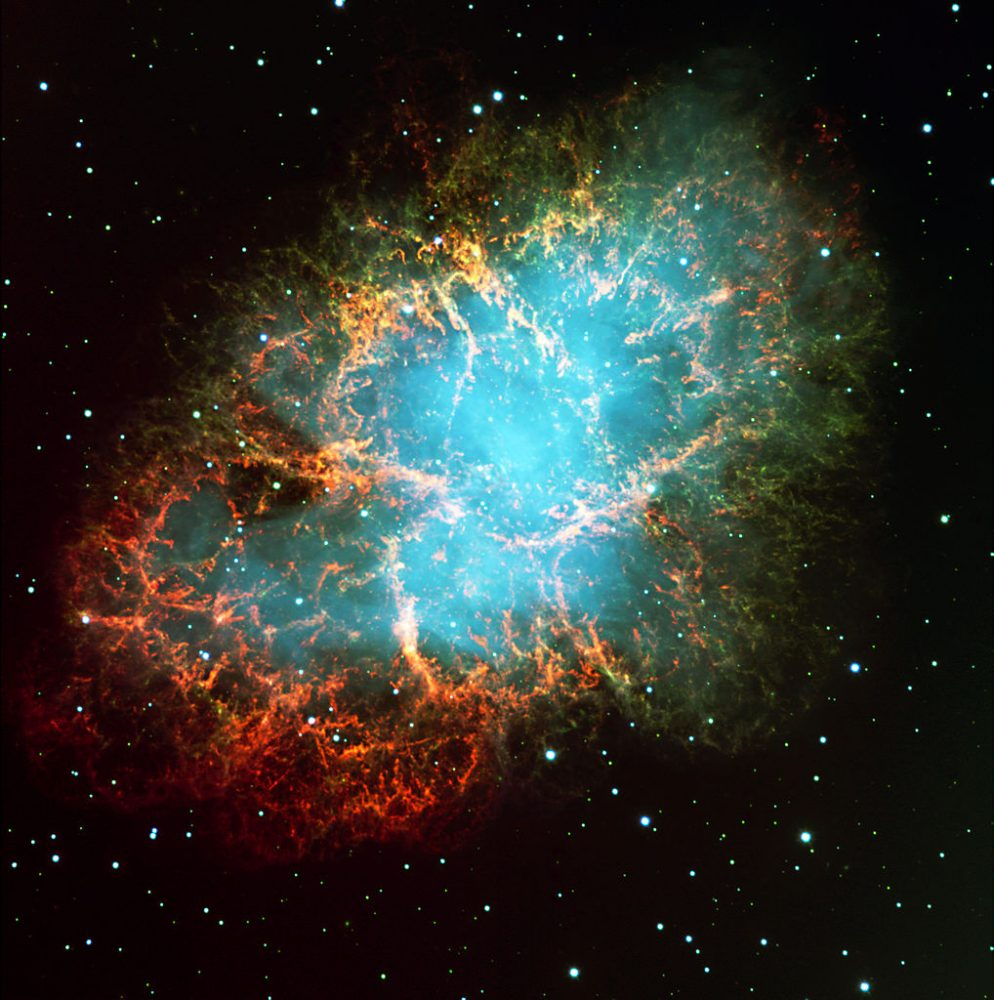 crab nebula,m1,messier 1
