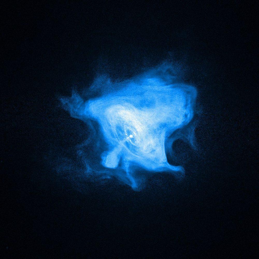 crab nebula x-ray image,crab pulsar