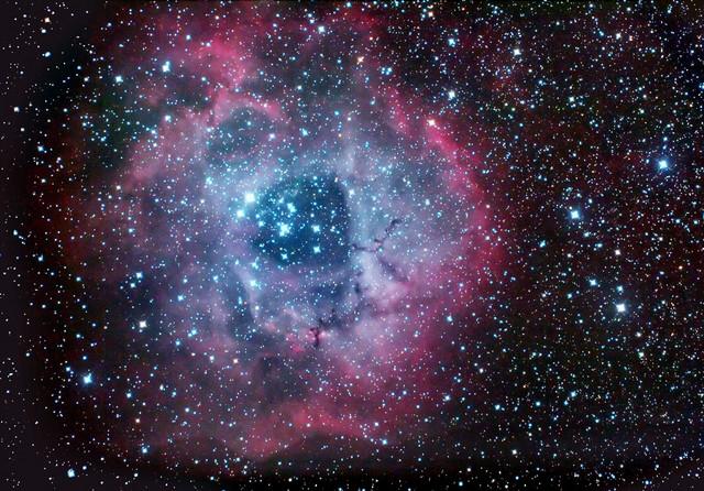 rosette nebula,h alpha