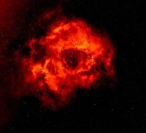 rosette nebula.the skull nebula