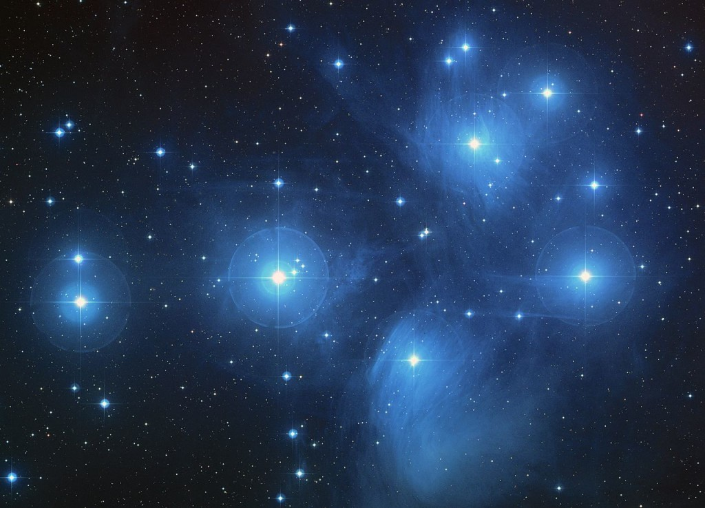 pleiades,seven sisters,messier 45