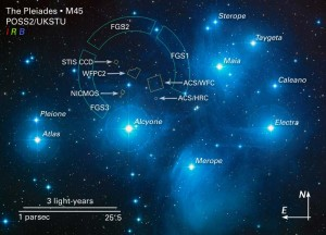 pleiades map,seven sisters map,seven sisters stars,pleiades stars,m45 map