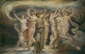 pleiades myth,pleiades greek mythology