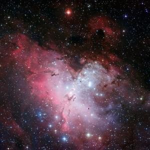 eagle nebula,messier 16,m16