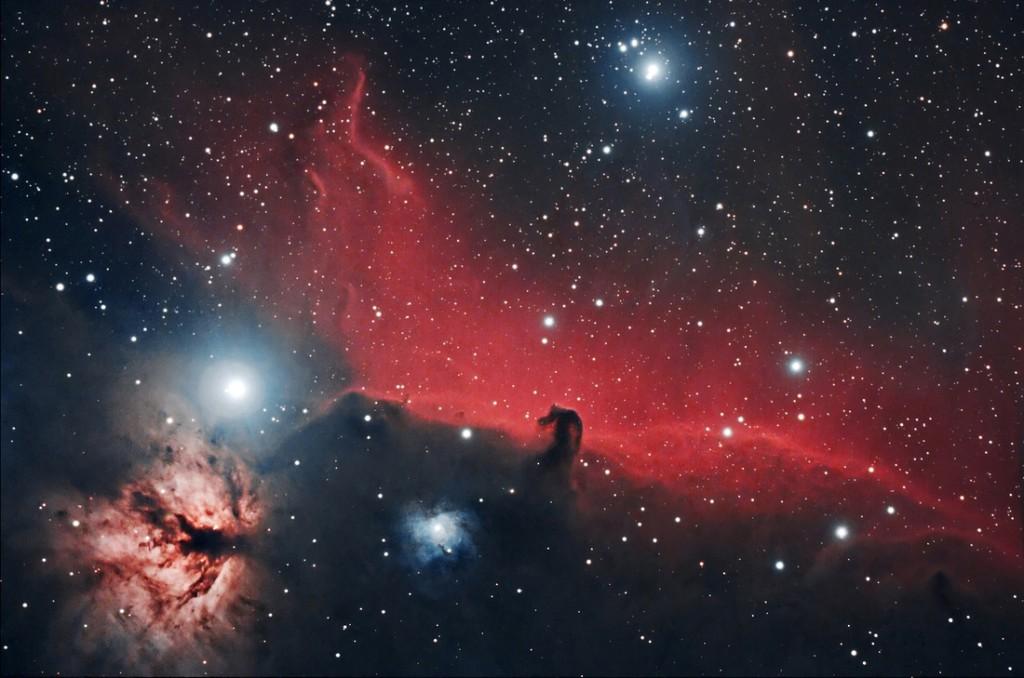 horsehead nebula,alnitak,orions belt