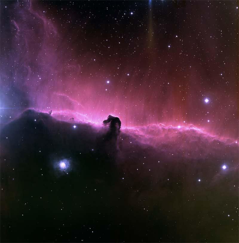 Objeto cósmico Barnard 33.