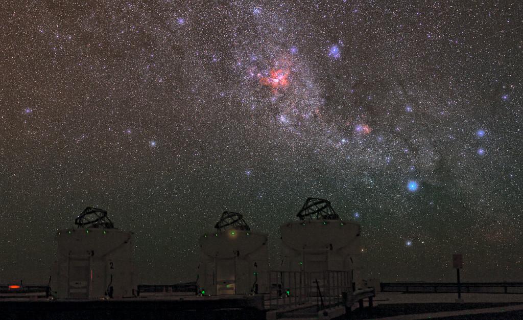 eta carinae nebula location
