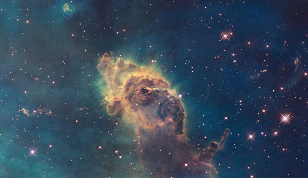 eta carinae nebula visible light