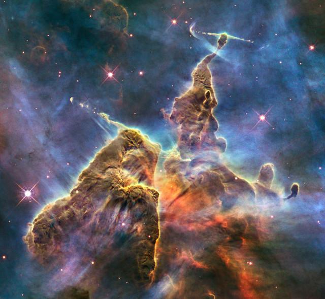 carina nebula,H II region