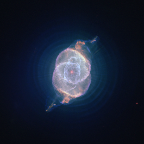Cat S Eye Nebula Hubble