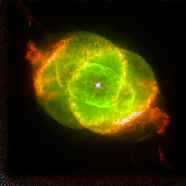 cat's eye nebula,ngc 6543