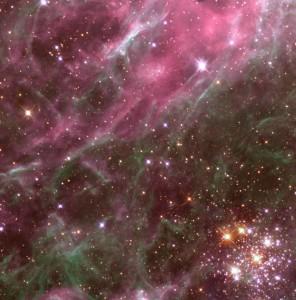 super star cluster,tarantula nebula