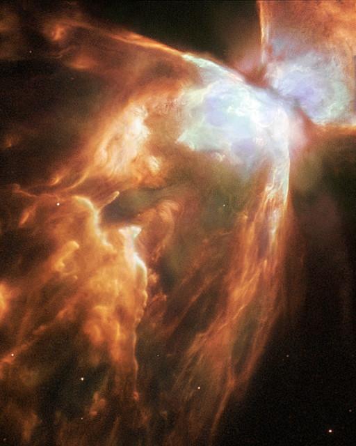 butterfly nebula,bipolar planetary nebula,nasa